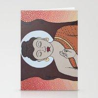 buddha Stationery Cards featuring Buddha     by Marjolein