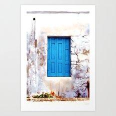 Cretan Door No2 Art Print