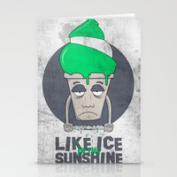 Like Ice in the Sunshine. Stationery Cards