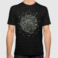 Moonlight Magic Mens Fitted Tee Tri-Black SMALL