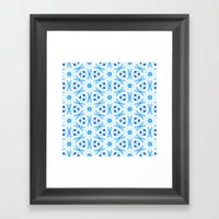 Moroccan Flowers Framed Art Print