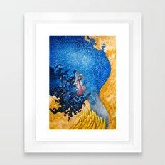Dual State II Framed Art Print