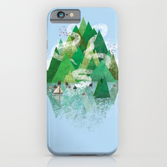 Mysterious Island iPhone & iPod Case