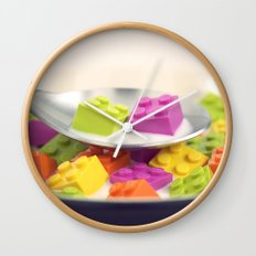 A Balanced Brickfast Wall Clock