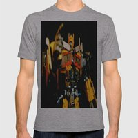 Golden Optimus Mens Fitted Tee Athletic Grey SMALL