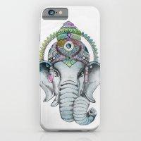 Ganesha Watercolor iPhone 6 Slim Case