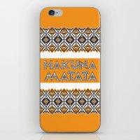 SAWASAWA 3 iPhone & iPod Skin