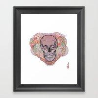 J I L L Framed Art Print