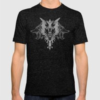 Wolves Mens Fitted Tee Tri-Black SMALL