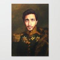 His Infernal Majesty Canvas Print