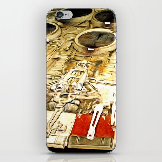 Millenium Falcon Body iPhone & iPod Skin