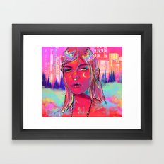 In The Night. Framed Art Print