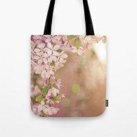 Pink Frame Tote Bag
