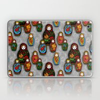 Matryoshki pattern Laptop & iPad Skin