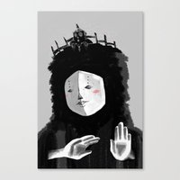 Lovely Woman Canvas Print