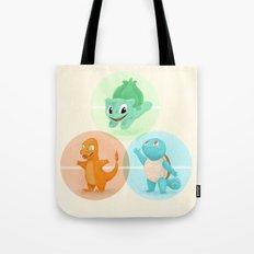 Poké: choose your starter Tote Bag