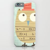 iPhone & iPod Case featuring Mr.Hooti by shiny orange dreams