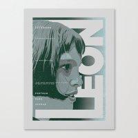 LEON (Natalie Portman Series) Canvas Print