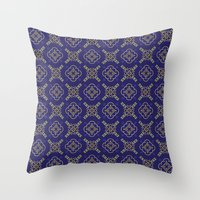 Royal [abstract Pattern … Throw Pillow