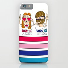 LOVEISPEACE&FREEDOM iPhone 6s Slim Case