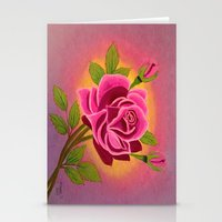 Rose For You Stationery Cards