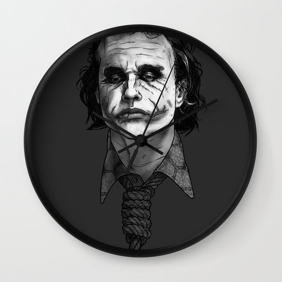 Now I'm Always Smiling // The Dark Knight Wall Clock
