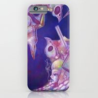 iPhone & iPod Case featuring Brain Vomit by Katie Lawter