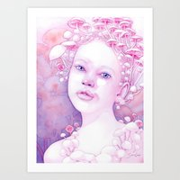 Infectious Innocence Art Print