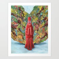 I'd Like to Buy the World a Smile Art Print