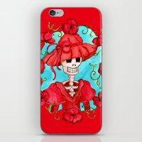 Catrina Doña Carlota iPhone & iPod Skin