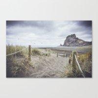 Piha Beach Canvas Print