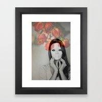 Queen Of Roses Framed Art Print