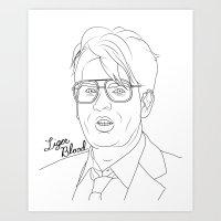 Liger Blood Art Print