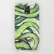 Cthulhu Green Tentacles Galaxy S5 Slim Case