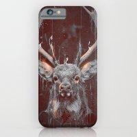 iPhone & iPod Case featuring DARK DEER by Ptitecao
