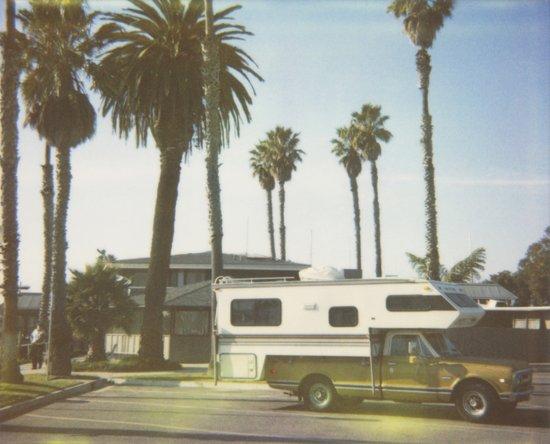 California Dream Polaroid Print Art Print
