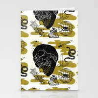 Planet Oblivion Stationery Cards