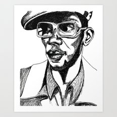 Mighty Mos Def Art Print