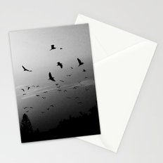 Migrating birds #02 Stationery Cards