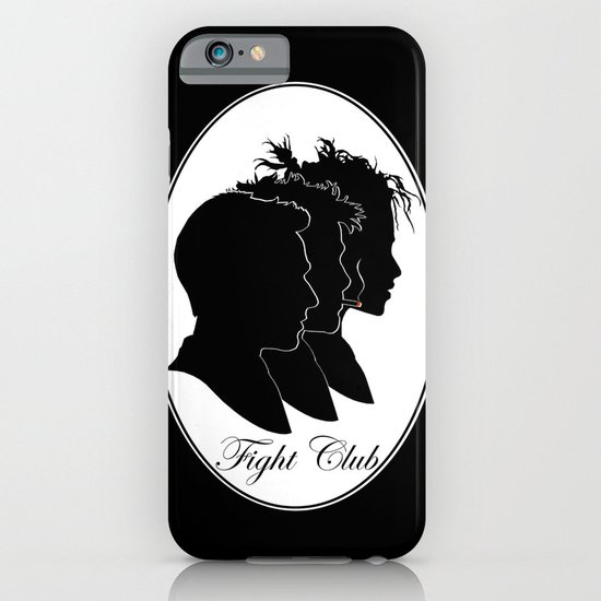 Fight Club Portrait iPhone & iPod Case