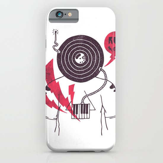 The Vinyl Frontier iPhone & iPod Case