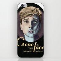 Silent the voice we loved to hear. iPhone & iPod Skin