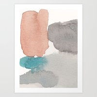 Water and color 22 Art Print