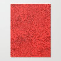 Lucy Flowers Canvas Print