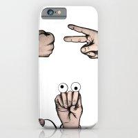 Rock, Scissors, Hanz iPhone 6 Slim Case