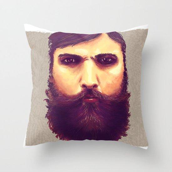 Jeff, Tor and Odin. Throw Pillow