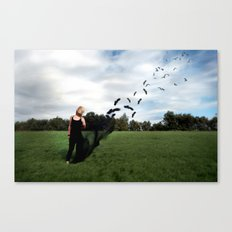 Fly's Away... Canvas Print
