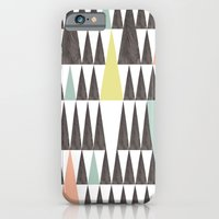 iPhone & iPod Case featuring Triangle pattern by Cecilia Andersson