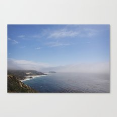 cali coast Canvas Print