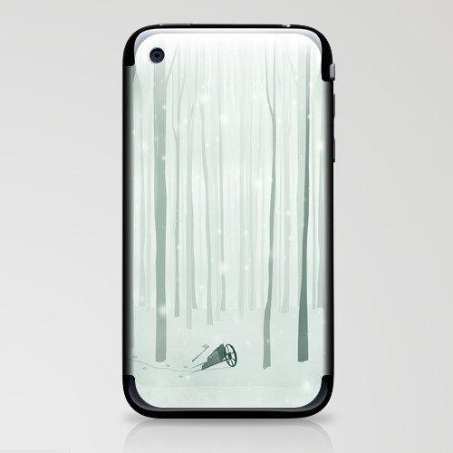 The Woodcutter iPhone & iPod Skin